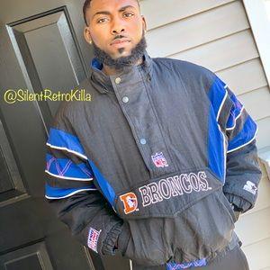Denver Broncos Vtg Pro Line Starter Puffer jacket